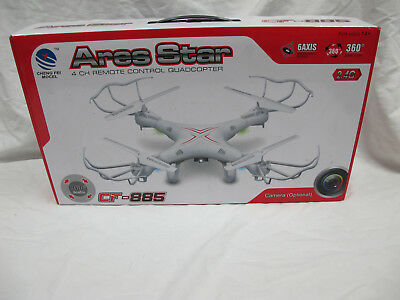 Ares Star Quadcopter CF-885 Unused Untested AS-IS No remote control