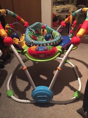 Baby Einstein Jumper-Bouncer, Educational & Entertaining, Music, Lights, Talk!
