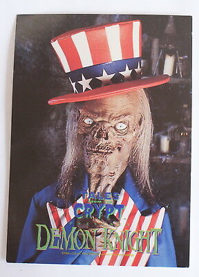 Tales From the Crypt Demon Knight Crypt Keeper Post Card Promo Universal Studios