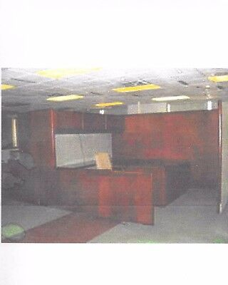 4 Office Cubicles with overhead storage, lateral and standard file drawers