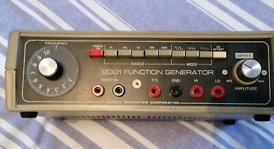 2001 Sweep Function Signal Generator Continental Specialities Corporation