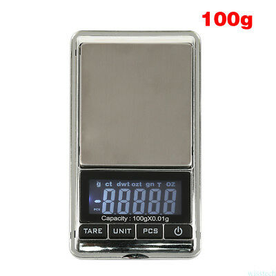 Electronic Pocket Mini Digital Gold Jewelry Weighing Scale 0.01 Weight 100g FT6
