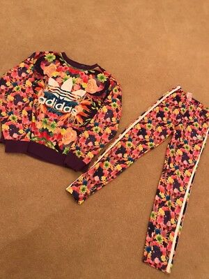 Super Cute Girls Adidas Tracksuit! Excellent Condition! 11-12 Years