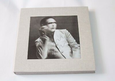 Marilyn Manson Signed Deluxe Vinyl Numbered Pale Emperor Box Set