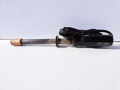 WIZARD Vintage Electric Soldering Iron WESTERN AUTO SUPPLY CO   - Tested