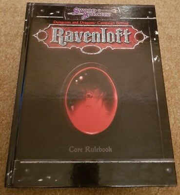 Dungeons & Dragons Ravenloft Campaign Setting Core Rule book WW1500
