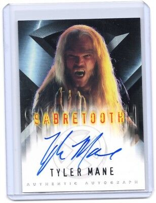 2000 Topps X-Men The Movie Tyler Mane ( SABRETOOTH ) autograph auto card    #1
