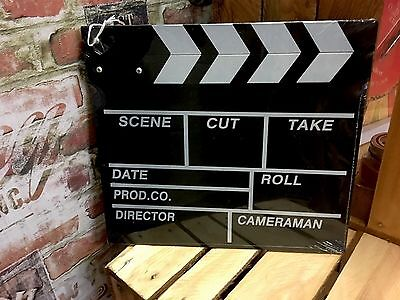 Movie Clapboard Memorabilia Decorative Camera Film Prop Clapper Board Party Room