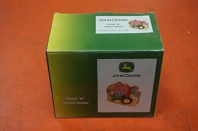 John Deere Model B Napkin Holder IN THE BOX
