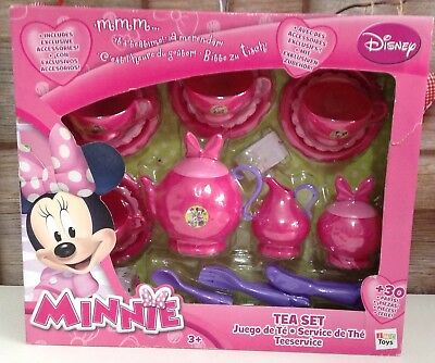IMC Minnie Mouse 30 Piece Tea Set Disney Role Play BNIB 💖💕💖