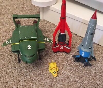 Thunderbirds Talking Vehicle Bundle