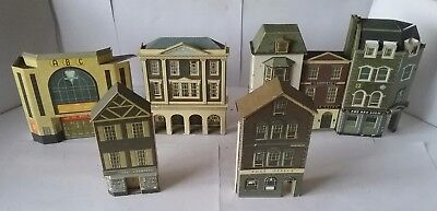 Low relief card buildings OO Gauge.