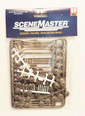 HO Scale Walthers SceneMaster 949-4122 Street & Decorative Lights (Nonoperating)