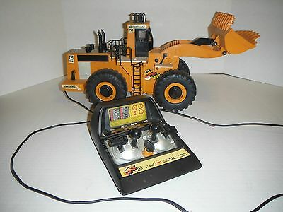Vintage New Bright Wired RC Front End Loader The Cat 992 Catapillar TESTED WORKS