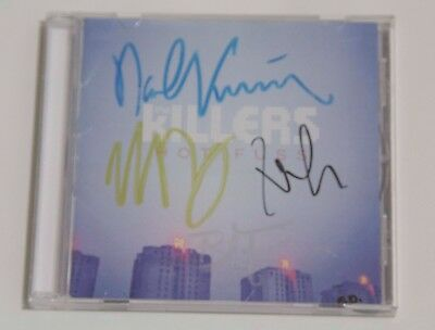 The Killers Signed Hot Fuss Cd Brandon Flowers Rare Mexican Edition