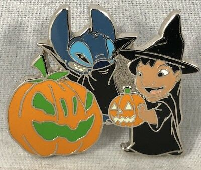 Lilo and Stitch Trick or Treating Halloween Disney Pin