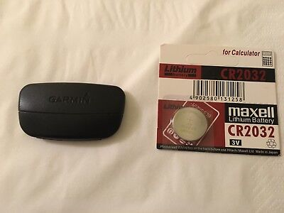 Garmin HRM Heart Rate Monitor & Spare Battery