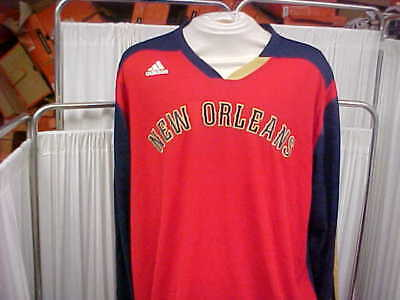 bd6052d195ae NBA 2013-2014 New Orleans Pelicans W All-Star Patch L S