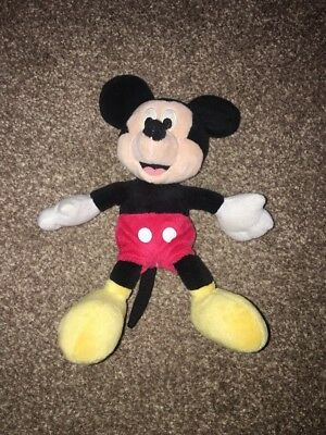 Small Mickey Mouse Disney Plush Teddy