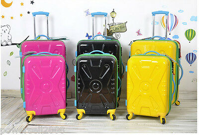 24 Inch Fashion Lovely Practical Traveling Universal wheel Pink Suitcase