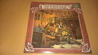THE SANDS FAMILY - You'll Be Well Looked After - LP IRISH FOLK TRAD IRELAND 1975