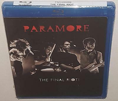 Paramore The Final Riot! Brand New Sealed Region B Bluray