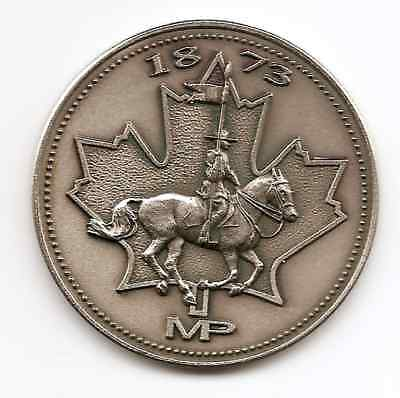 1873 Royal Canadian Mounted Police Medallion