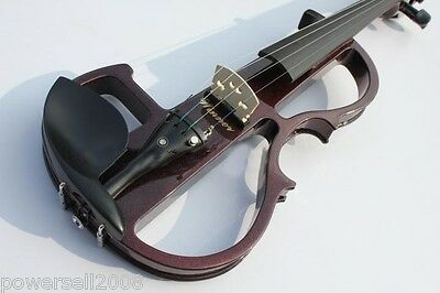 Red Wine Color Anti-S High-grade Carved Accessories Wireless Transmitter Violin