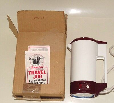 Travel kettle, cups and gold plated filter