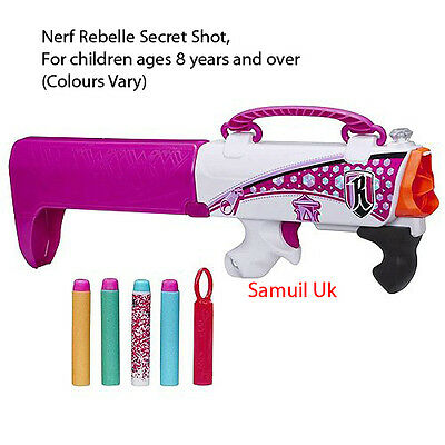 Nerf Rebelle Secret Shot, For children ages 8 years and over (Colours Vary)