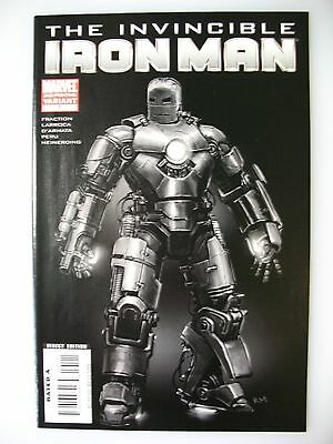 The Invincible Iron Man #1 Marvel Comic 2nd Print 2008