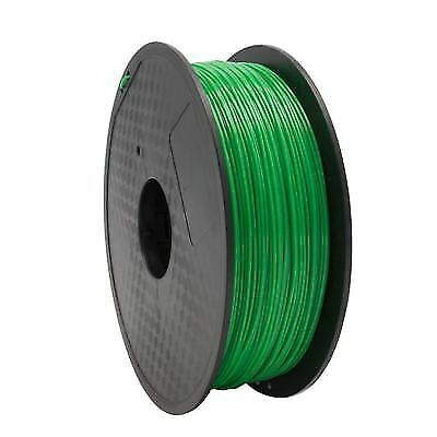 Bobina Filamento FLEXIBLE 3D para impresora 3D - 1.75 mm, Green, 0.8 kg
