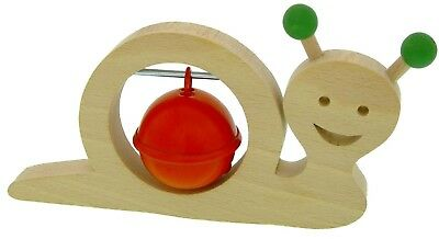 ABA Large Snail Musical Toy with Jingle Bells. Free Delivery