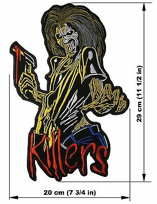 IRON MAIDEN Killers BACK PATCH embroidered NEW heavy metal