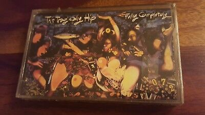Rare sealed The tragically Hip Fully Completely 1992 audio Cassette
