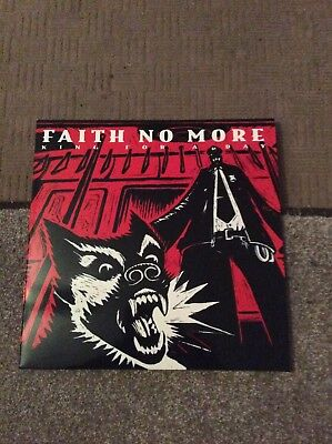 """Faith No More - King For A Day - 12"""" Vinyl Red Vinyl Near Mint Condition"""