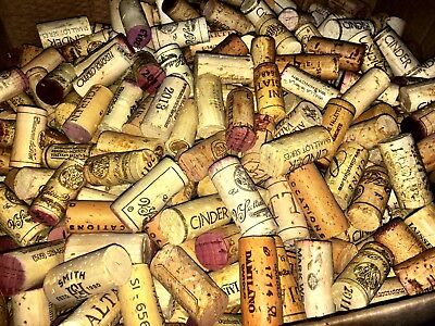 500 Used Wine Corks, all-natural, great for crafts! Free shipping!