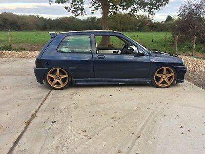 Renault Clio mk1 ph1 1.8 16v / Williams rep modified project spares repairs mot