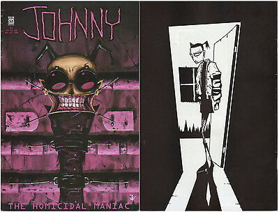 Johnny, the Homicidal Maniac #7 1997 Slave Labor Johnan Vasquez Invader Zim 1st