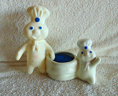 Pillsbury Doughboy Kitchen Scrubby Holder Plus Doughboy Squeeze Toy