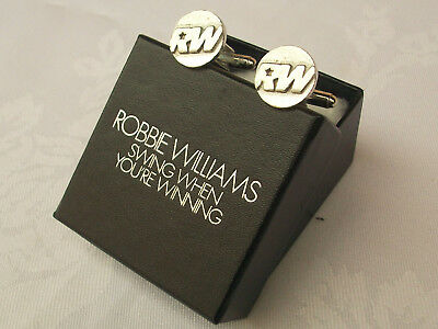 Robbie Williams, Top Of The Pops, Prize, Gift, Shirt, Cuff Links, Dvd, Radio.