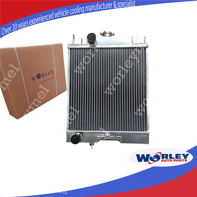 2 Row Aluminum Radiator For Suzuki Swift Gti 1.0/1.3/1.6 89 90 91 92 93 94
