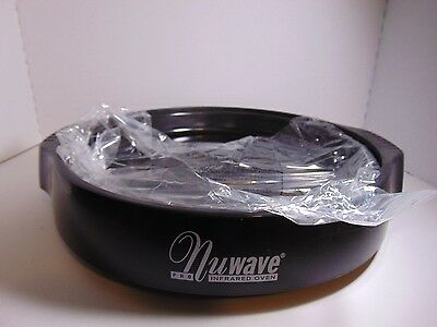 NuWave Pro Oven Replacement Bottom Base Tray & Metal Drip Liner Pan Set New