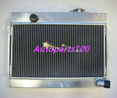 3 ROW ALLOY ALUMINUM RADIATOR for DATSUN 1600 MANUAL MT
