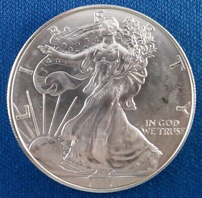 1996 American Silver Eagle 1 Ounce .999 Silver Coin - Key Date!
