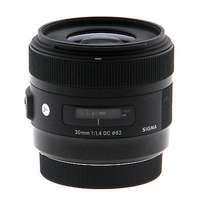 Sigma 30mm f/1.4 DC HSM Lens for Canon DSLR Cameras (Open Box)