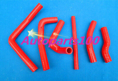 Red Silicone Radiator hose Kit for Honda CR250R CR 250 R 2-stroke 2000 2001