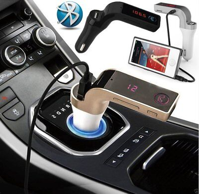 Bluetooth Handsfree Car Kit FM Transmitter MP3 Player Radio USB Charger &AUX LOT