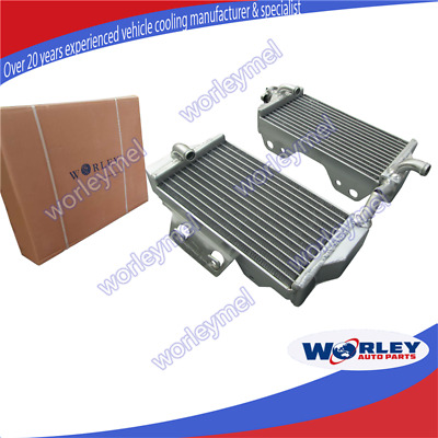 L&R Aluminum Radiator for Honda CR250R CR250 R 2-stroke 2005 2006 2007 05 06 07