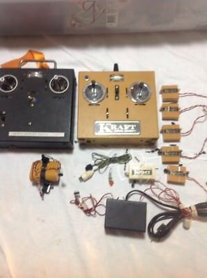 vintage kraft radio control Untested For Parts Only